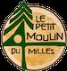 logo Le petit moulin du 4 milles - Artisans du cèdre - Cédrières - Saunas - Les barils - Cantons de l'Est - Estrie