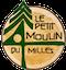 logo Le petit moulin du 4 milles - Artisans du cèdre - Cédrières -logo Saunas - Les barils - Cantons de l'Est - Estrie